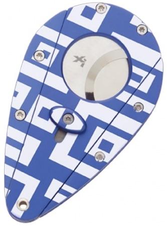 Coupe cigares XIKAR Labyrinthe Bleu