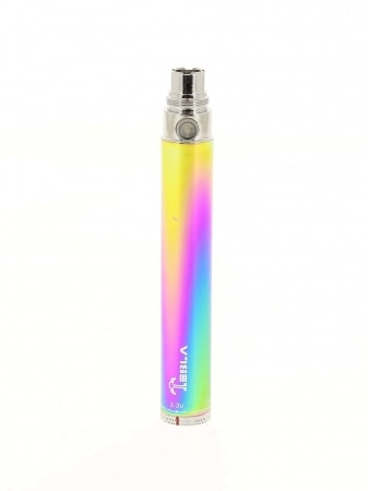 Batterie VV Tesla 650 mAh Twist Rainbow