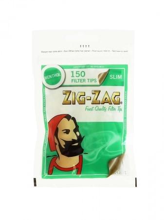 Filtres Zig Zag Slim Menthol x 10