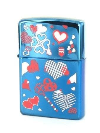 Zippo Blue Love
