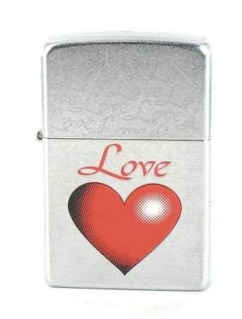 Zippo Love Coeur Rouge