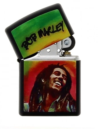 Zippo Bob Marley Peinture