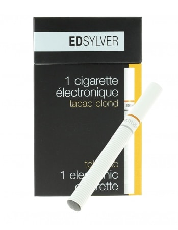 E-Cigarette Jetable Edsylver Tabac Blond avec Nicotine