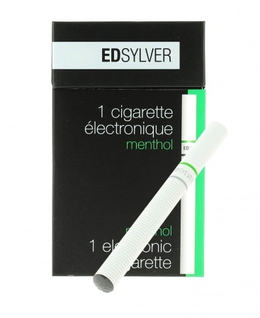 E-Cigarette Jetable Edsylver Menthe avec Nicotine