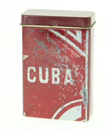 Boite a cigarette Cuba