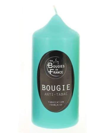 Bougie Anti Tabac Turquoise