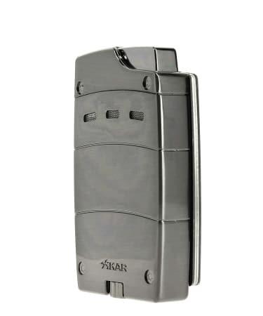 Briquet et coupe cigare aimant�s Xikar Ultra Combo Gris
