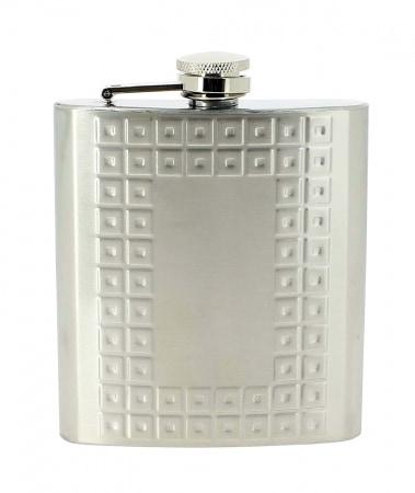Flasque à alcool Acier Cube