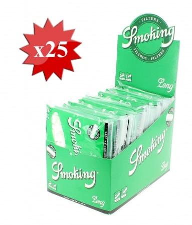 Filtres Smoking Classique Long x 25 sachets