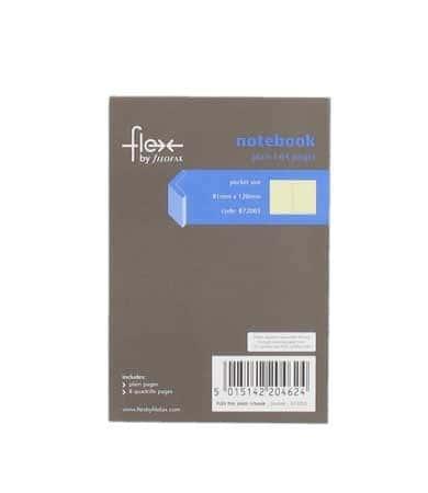 Carnet de notes 64 pages lign�es pour Pocket Flex Filofax