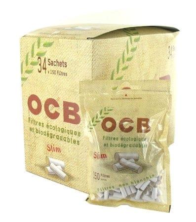 Filtres OCB Eco Bio Slim x 34 sachets
