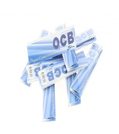 Papier à rouler OCB Slim Cristal x10