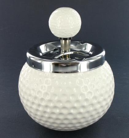 Cendrier C�ramique Golf Blanc