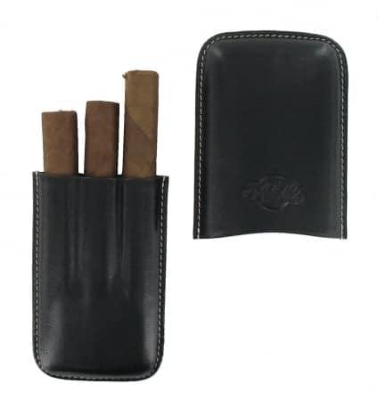 Etui 3 cigares Art et Volutes Amaro Noir