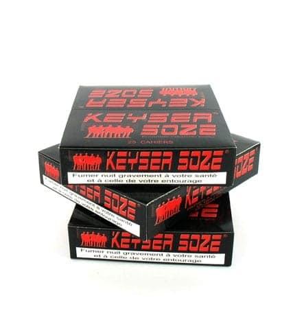 Papier à rouler Keyser Soze Slim x25 PACK de 3