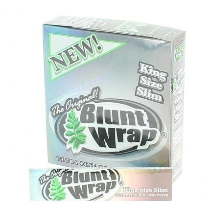 Papier à rouler Blunt Wrap Silver Slim x25