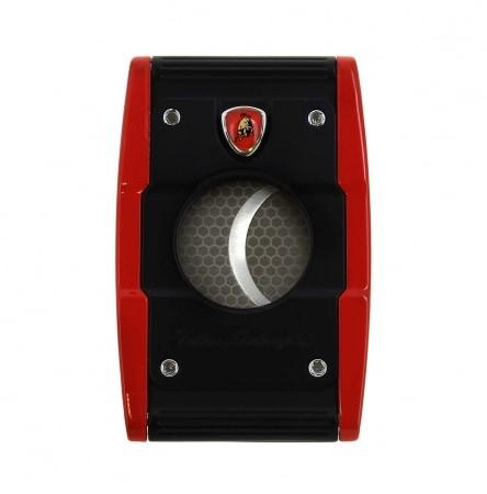 Coupe cigare Lamborghini Précision Rouge et Noir