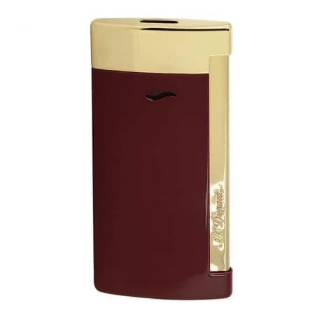 Briquet S.T. Dupont Slim 7 Rouge et doré