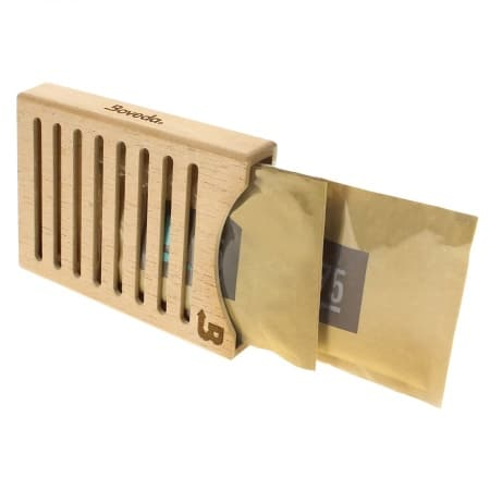 Porte 2 syst�mes d'humidification Boveda Bois
