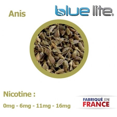 E liquide français Anis bluelite