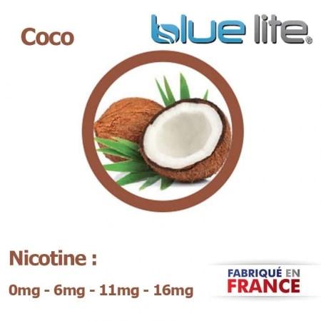 E liquide fran�ais Coco bluelite