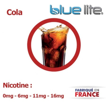 E liquide français Cola bluelite