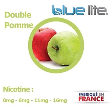 E liquide français Double Pomme bluelite