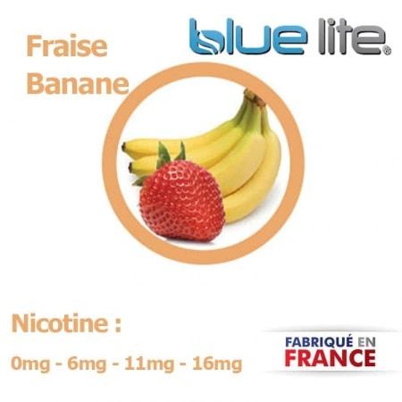E liquide français Fraise Banane bluelite