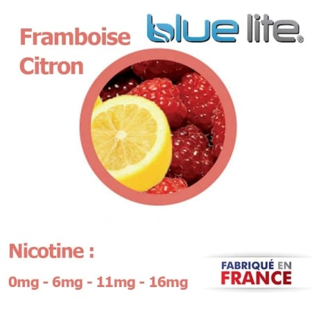 E liquide fran�ais Framboise Citron bluelite