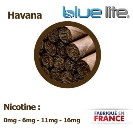 E liquide français Tabac Havana bluelite