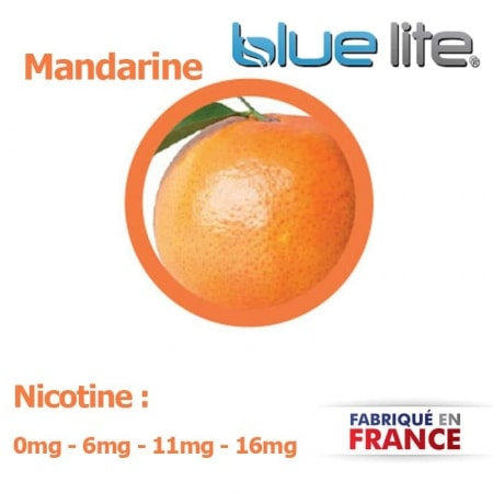 E liquide français Mandarine bluelite