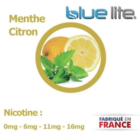 E liquide français Menthe Citron bluelite