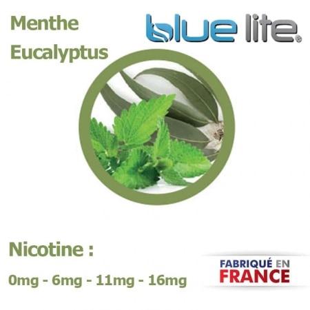 E liquide français Menthe Eucalyptus bluelite