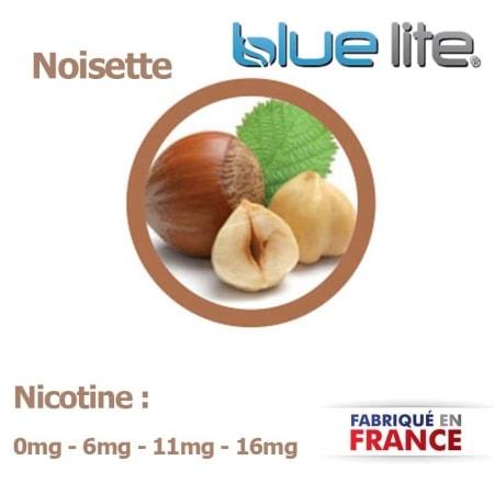 E liquide français Noisette bluelite