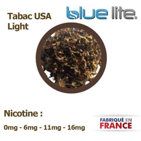 E liquide français Tabac USA Light bluelite