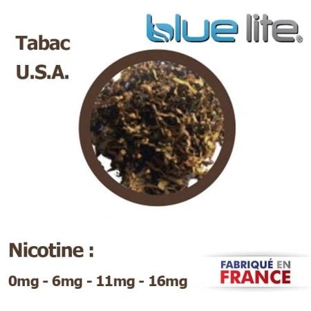 E liquide français Tabac USA bluelite