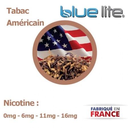 E liquide fran�ais Tabac America bluelite