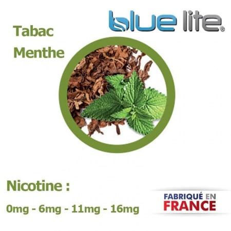 E liquide français Tabac Menthe bluelite