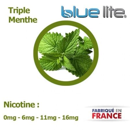 E liquide français Triple Menthe bluelite