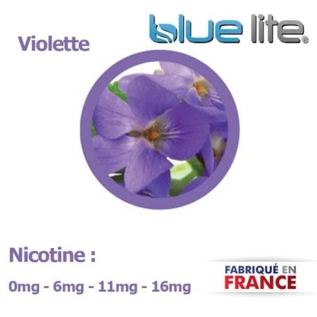 E liquide français Violette bluelite