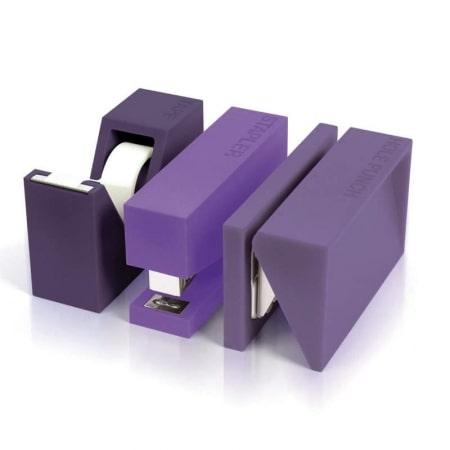 Set de bureau Lexon 3 pièces Violet