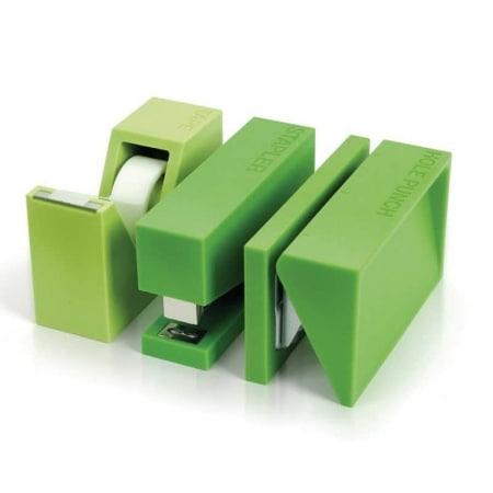 Set de bureau Lexon 3 pièces Vert