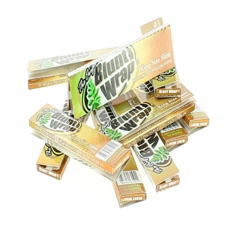 Papier à rouler Blunt Wrap Gold Slim x10