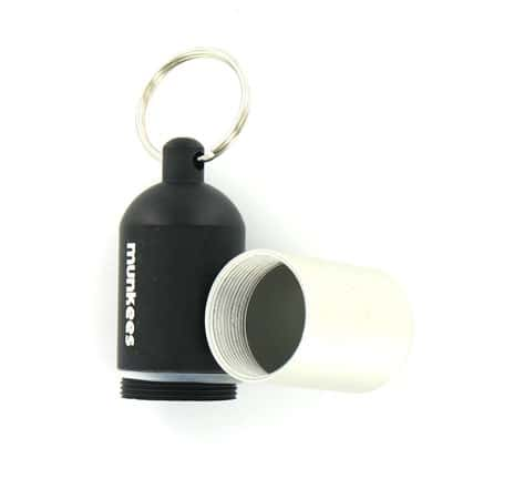 Porte Clés Capsule Waterproof Noir