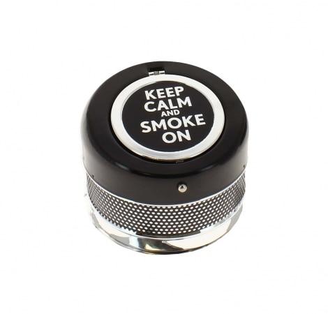 Cendrier Automatique Keep Calm noir