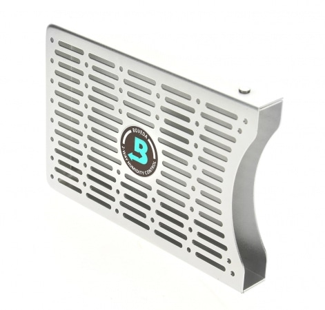Porte 2 systèmes d\'humidification Boveda Métal