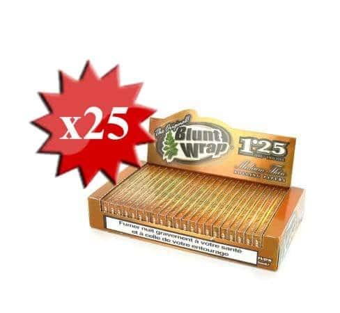 Papier � rouler Blunt Wrap Gold 1.25 x25