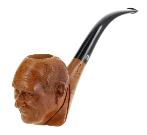 Pipe de Cogolin Sculptée Chirac