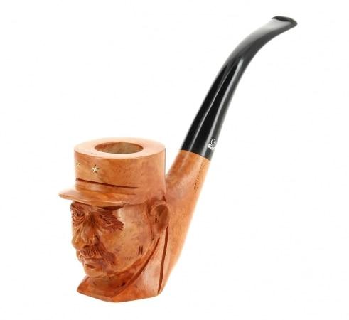 Pipe de Cogolin Sculptée De Gaulle
