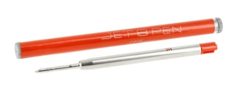 Recharge Stylo St Dupont bille Jet 8 Orange